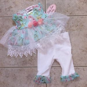 Little Lass Matching Sets - NWT Baby Outfit